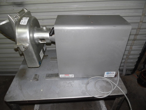 Univex #12 Hobart Style Power Drive Unit VS2000 With Shredder Grater Attachment