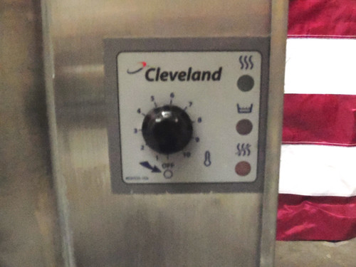 Cleveland KGL-25 LP Gas Steam Jacketed Stationary Kettle