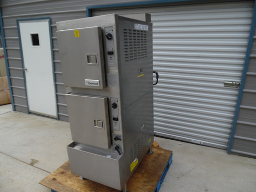 Cleveland 24CGA10.2 SS Nat Gas Convection Steamer