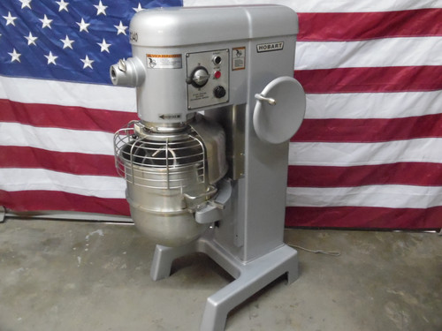 Hobart Refurbished D340T 40 Qt Mixer 208-230V 3 Phase Setup