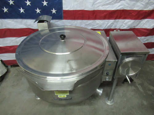 2013 Cleveland Tilting KGL-40T SH Natural Gas Low Profile Steam Kettle
