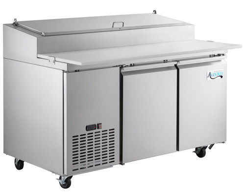Avantco Plus Refrigerated 67 Inch Pizza Prep Table
