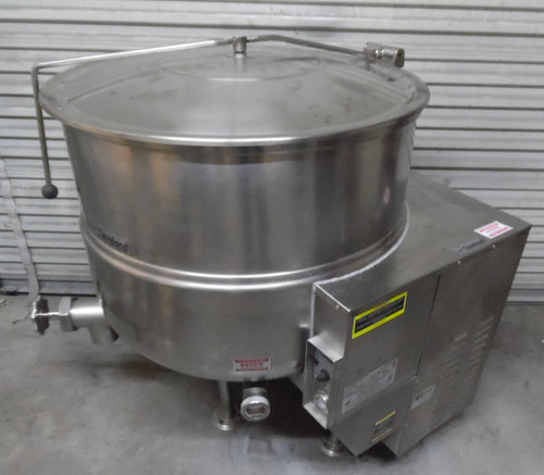 Cleveland KGL-80 LP or Nat Gas Steam Jacketed Kettle