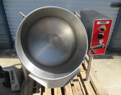 Vulcan K40ELT 40 Gal Tilting Steam Jacketed Electric Kettle 208V 3/1 Phase