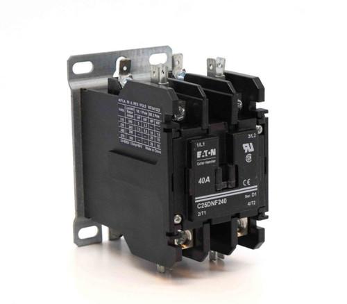 ETN QC 3 Pole Contactor No Aux 120V Coil
