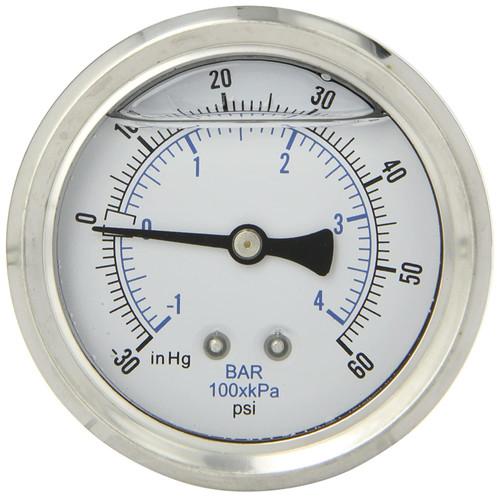 "Vulcan 2 5/8"" Pressure Gauge 60PSI 30VAC"