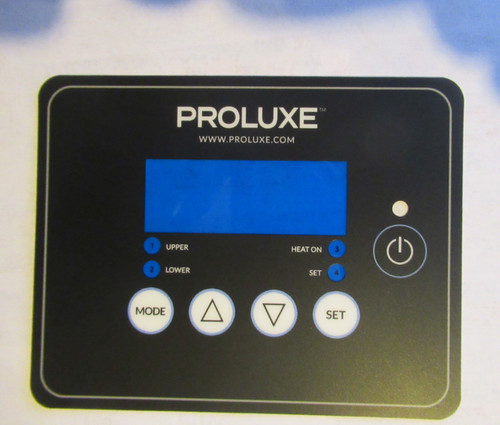 Dough Pro Overlay DP1300 DP1818 Black