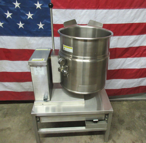 2016 Cleveland Electric 12 Gal Tabletop Tilt Kettle KET-12T 208V