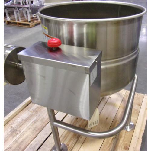 New Cleveland Tilting KDL-40T Gas Jacketed Tilt Steam Kettle