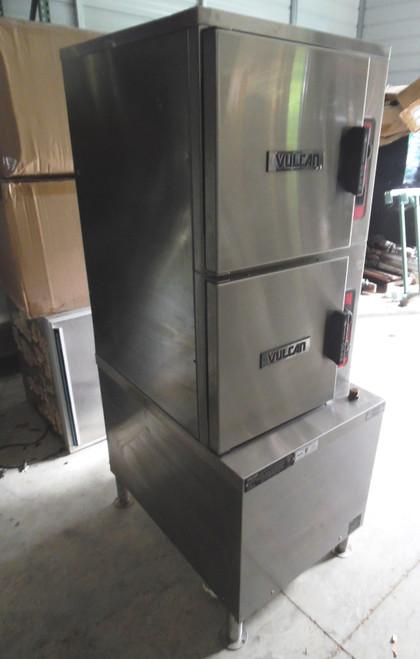 Vulcan C24ET10 (10) Pan Convection Steamer - Cabinet 208V
