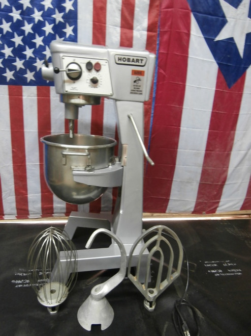 Hobart 30 Qt D300 Mixer Refurbished 3 Phase