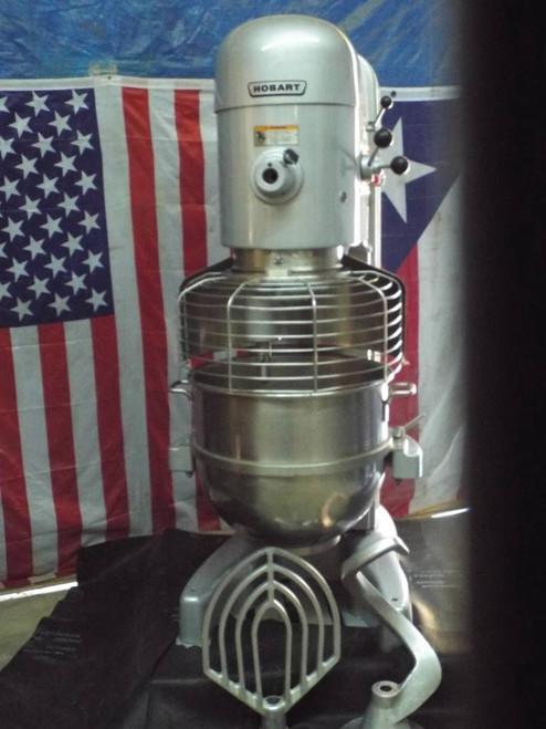 Hobart 80qt M802 Refurbished Dough Mixer 3HP Single Phase