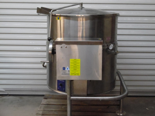 Cleveland  KEL-60T  460V Electric Tilting Steam Jacketed Kettle