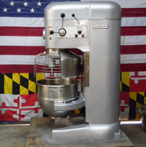 Hobart 80qt M802 Refurbished 3 HP Dough Mixer 3P