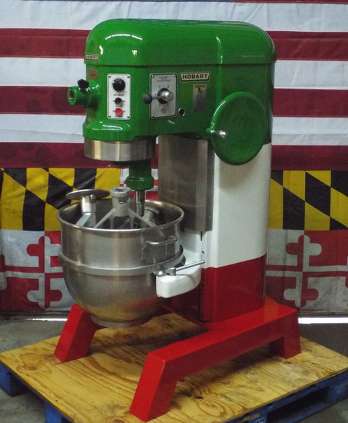 Custom Painted  Refurbished Hobart 60 Qt  Mixer H600T 2HP