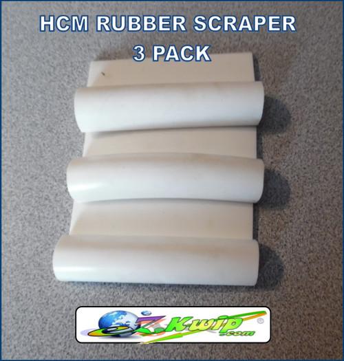 Hobart HCM-450 Bowl Lid Rubber Scraper 3 Pack 122209-1