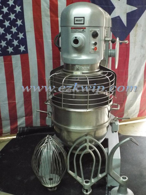 Hobart 60 Qt Dough Bakery Pizza Mixer H600T 460V 3 Phase