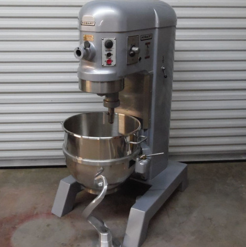 Hard to Find Hobart Auto Lift H600T 60Qt Refurbished Mixer 1 Phase