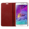 Samsung Galaxy Note 4 Leather Case Red
