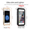 iPhone 8 Lens Case Cover Gold Shockproof Body