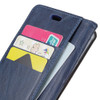 Nokia 9 PureView Leather Wallet Case Blue