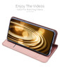 Samsung Galaxy A40 Case Shockproof 360 Flip Cover Rose Gold