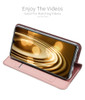 Samsung Galaxy A70 Magnetic Case Stand Cover Card Holder Pink