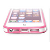iPhone 5 5S Bumper Pink with Metal Buttons