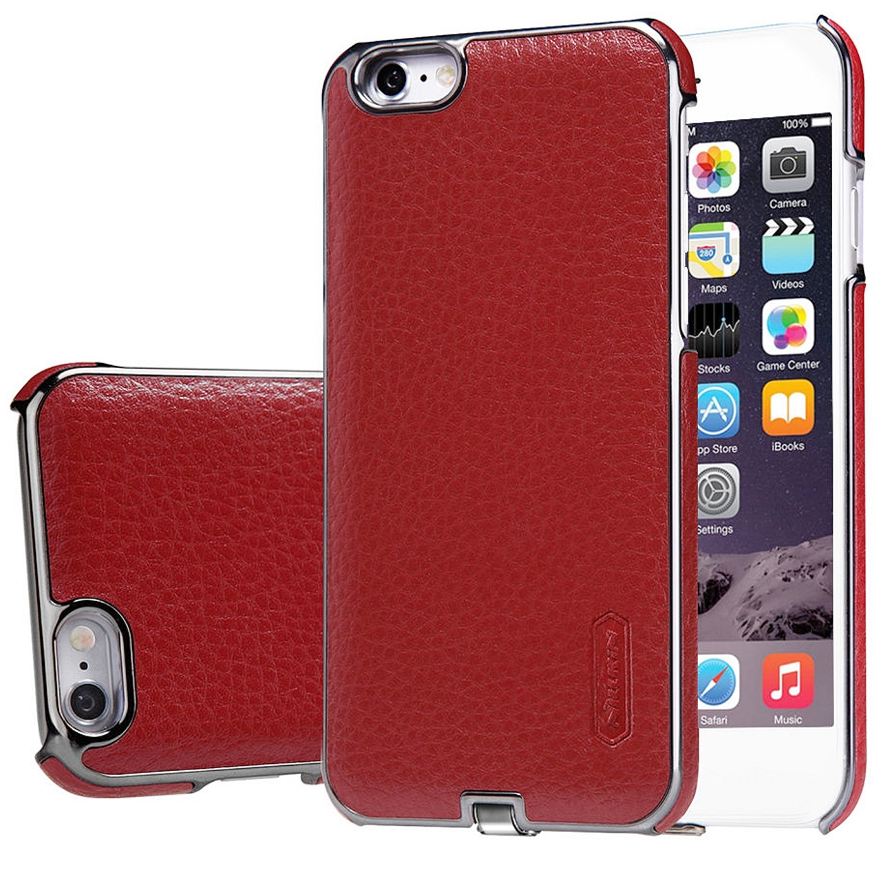 brand new 66062 6ce11 Nillkin iPhone 6 6S Wireless Charging Case Red