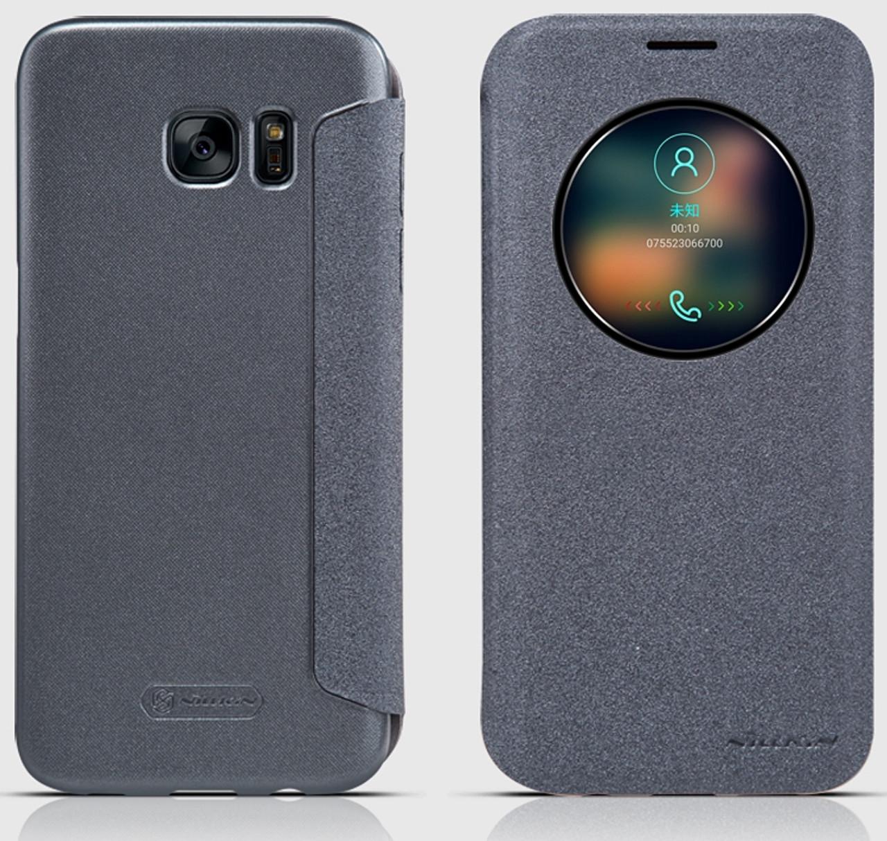 official photos c2ab1 c3bc2 Nillkin Samsung Galaxy S7 EDGE App Window Smart Case