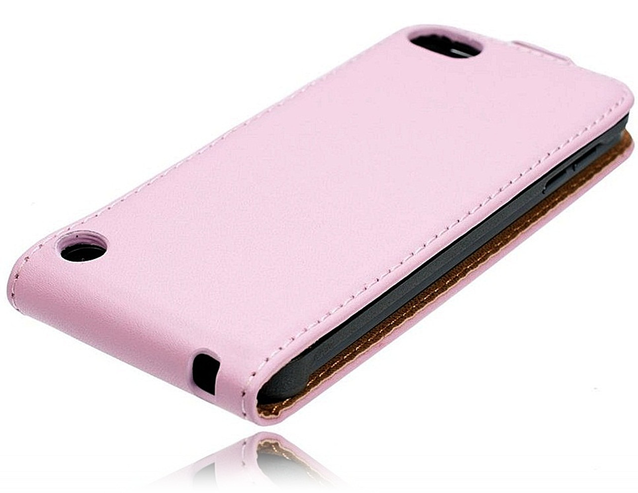 separation shoes d8486 e9f02 iPod Touch 6/5 Leather Flip Case Pink