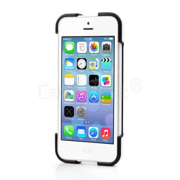 iPhone 5C Snap Stand Case White