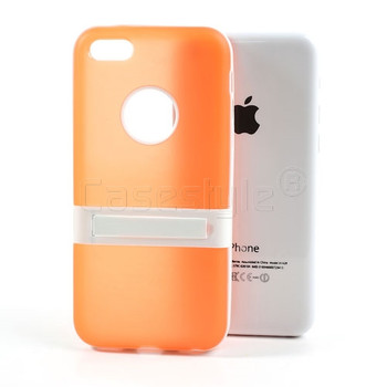 iPhone 5C Stand Case Orange