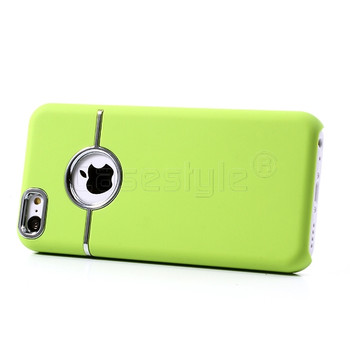 iPhone 5C Chrome Trim Case Green