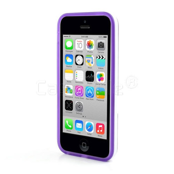 iPhone 5C Stand Case Purple