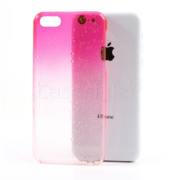 iPhone 5C Raindrop Case Pink