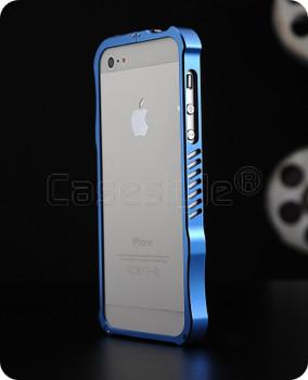 iPhone 5S 5 iMatch Aluminum Bumper Case Blue