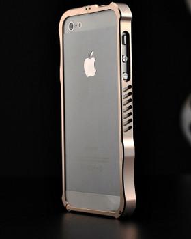 iPhone 5S 5 iMatch Aluminum Bumper Case Gold