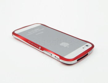 Deff Cleave iPhone 5S 5 Aluminum Bumper Red