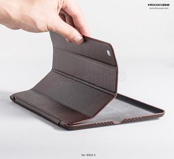 Hoco Duke iPad Air 2 Leather Smart Cover Brown