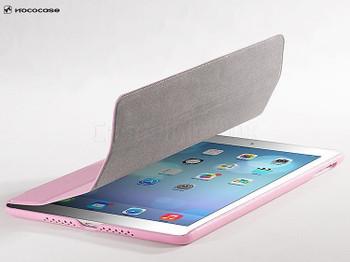 Hoco Duke iPad Air 2 Leather Smart Cover Pink
