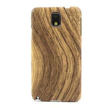 Samsung Galaxy Note 3 Wood Effect Case Light Brown
