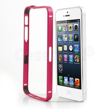 iPhone 5S 5 Thinnest Aluminum Metal Bumper Red