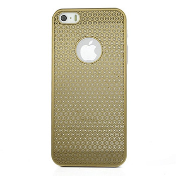 iPhone 5S Metal Thin Case Gold