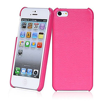 iPhone 5S Leather Back Case Pink