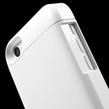 iPhone 5 5S Battery Case White