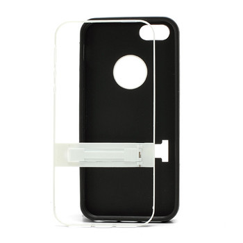 iPhone 5S Silicone Skin+Bumper Black