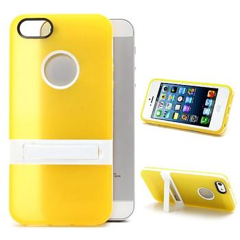 iPhone 5S Silicone Skin+Bumper Yellow