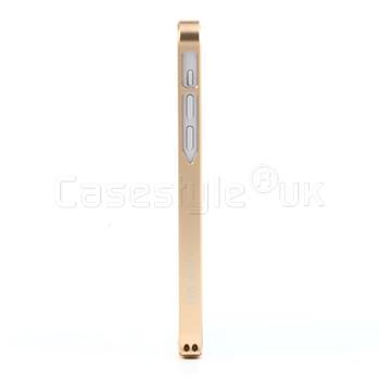 iPhone 5C Aluminum Bumper Case Champagne Gold