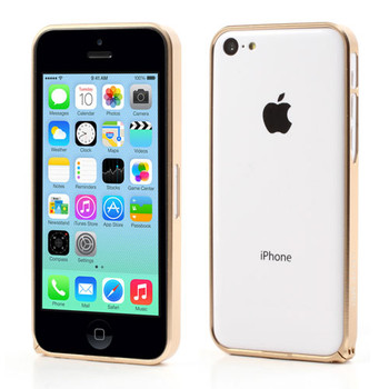 iPhone 5C Gold Bumper